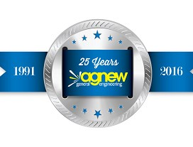 25 year logo this is the one